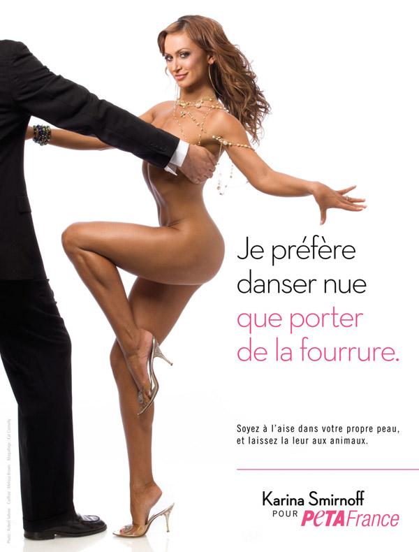 La nouvelle pub sexy de Karina Smirnoff de Dancing With the Stars