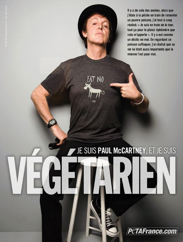 Paul McCartney PSA