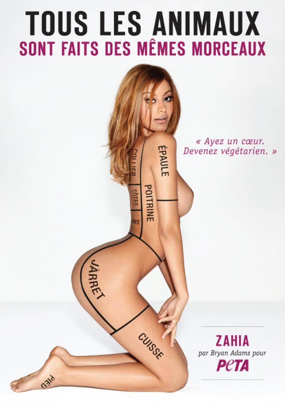 Zahia Dehar : qui dit féministe dit antispéciste