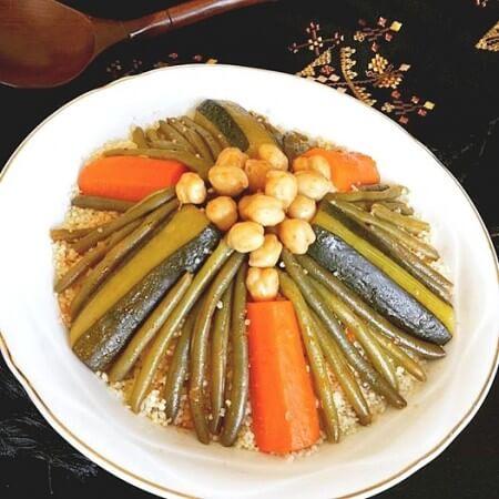 couscous végétarien ramadan