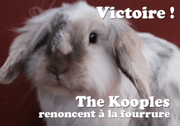 VICTOIRE : The Kooples largue la fourrure !
