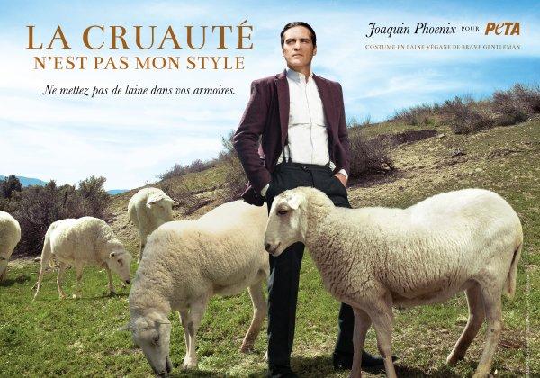 Joaquin Phoenix ne se sent à l'aise que dans un costume végan