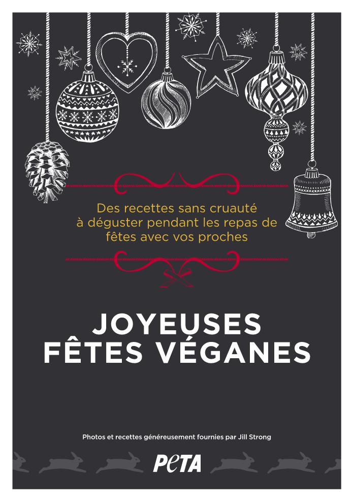 Dévorez notre livret de recettes illustrées pour des fêtes véganes