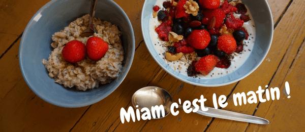 6 idées de petits déjeuners végans faciles à préparer pour les gourmands