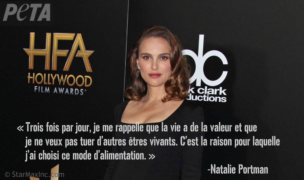 Dans une nouvelle vidéo, Natalie Portman incite à la compassion envers les animaux | Actualités | PETA France