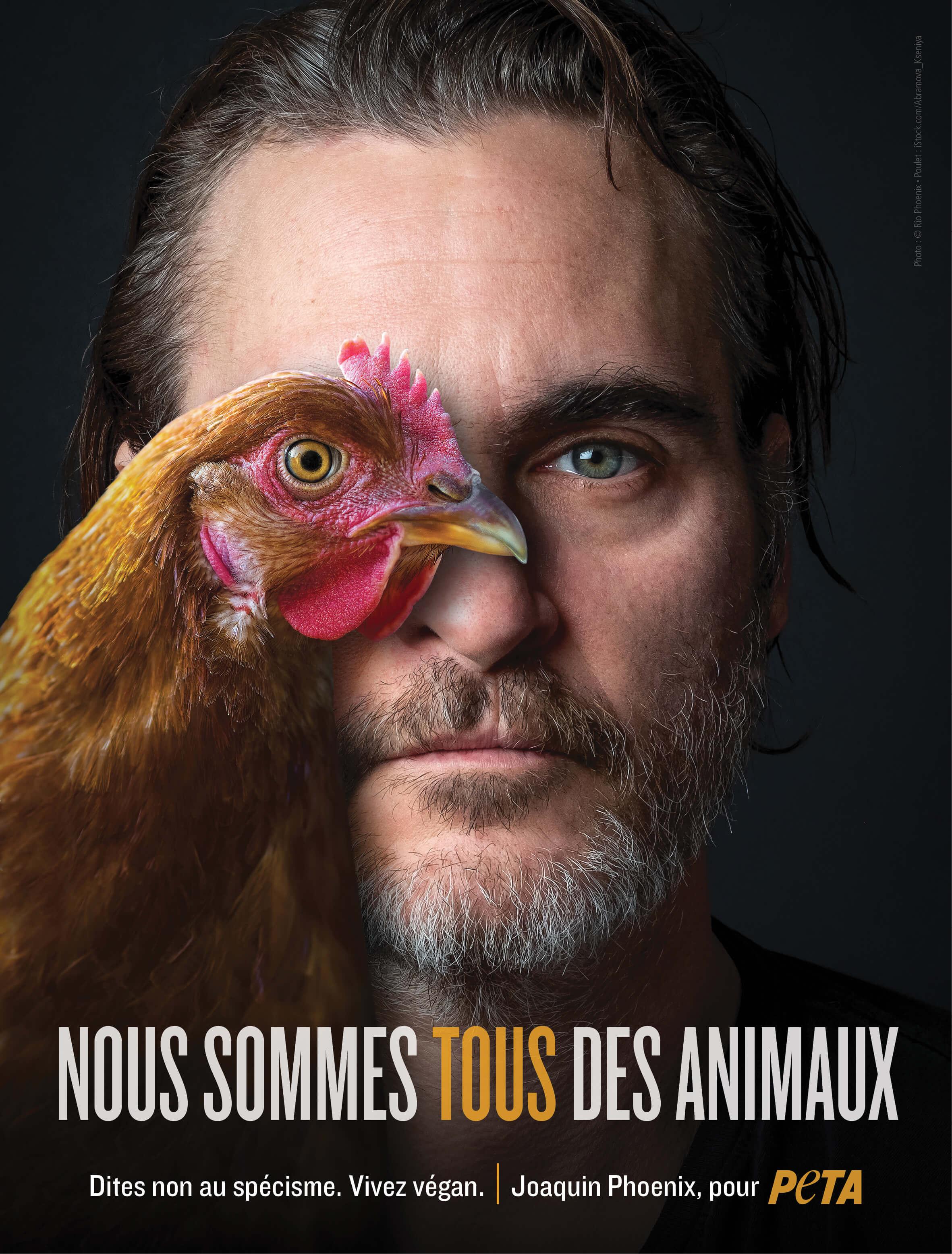 Joaquin Phoenix est la «personnalité de l'année 2019» de PETA