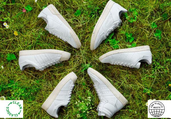 Adidas Originals lance une collection de sneakers véganes, « Clean Classics »