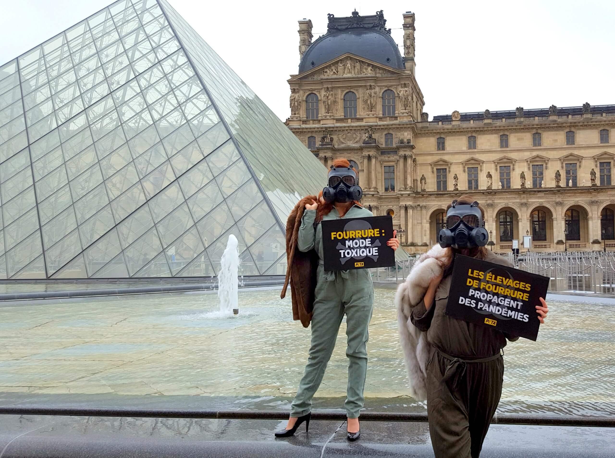 Paris Fashion Week : la fourrure propage des pandémies
