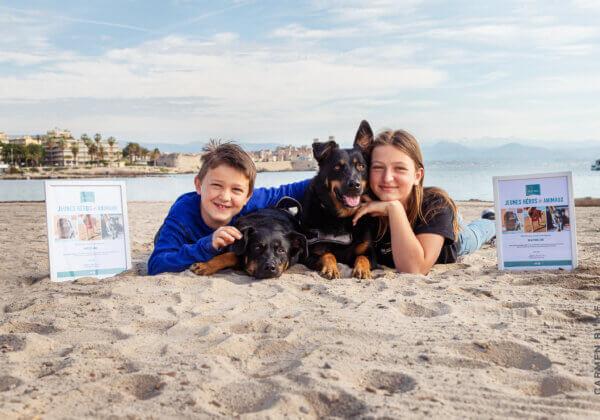 Un frère et une sœur de 9 et 12 ans reçoivent le « Prix des jeunes héros des animaux » de PETA