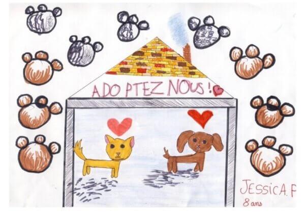 Des jeunes de 6 à 16 ans se mobilisent contre l'abandon des animaux